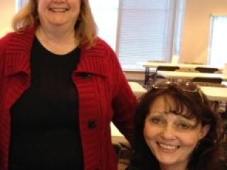 Women's AM 2014 Board Members Bev Schmahmann & Rita Carter